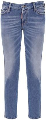 DSQUARED2 Jennifer Denim Skinny Jeans W/back Logo