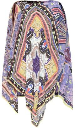 Etro Printed poncho