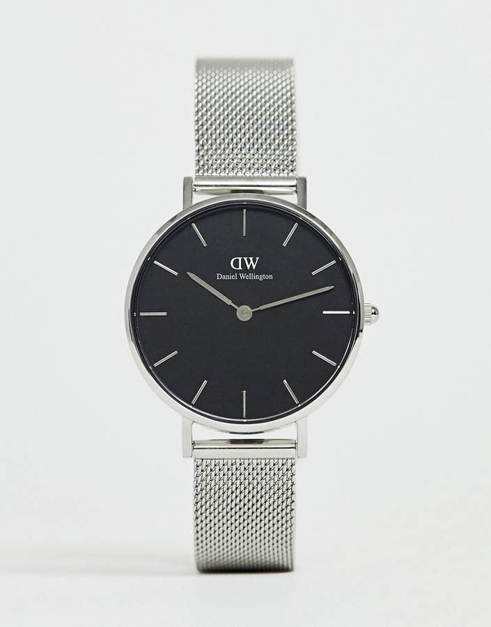 Daniel Wellington DW00100162 Mesh Watch In Silver