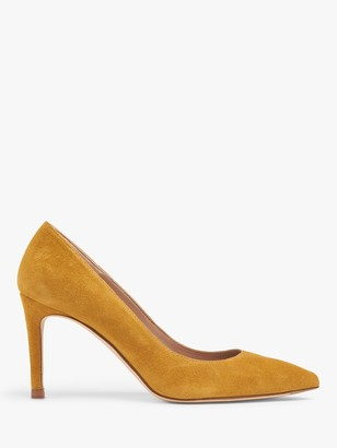 LK Bennett Floret Suede Stiletto Heel Court Shoes