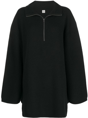 Totême Ribbed Knit Jumper