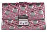 Christian Dior Anselm Reyle Neon New Lock Clutch