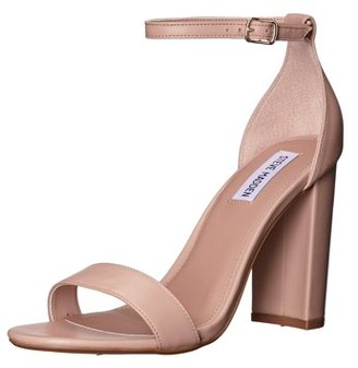 Steve Madden Carrson Leather Heeled Sandal (Women's)
