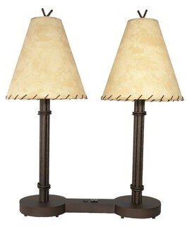 "Millwood Pines Callaway Hospitality 31"" Table Lamp Base Color/Finish: Black"