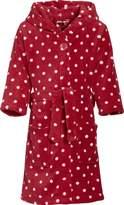 Playshoes Children's Fleece Hooded Bathrobe Loungewear