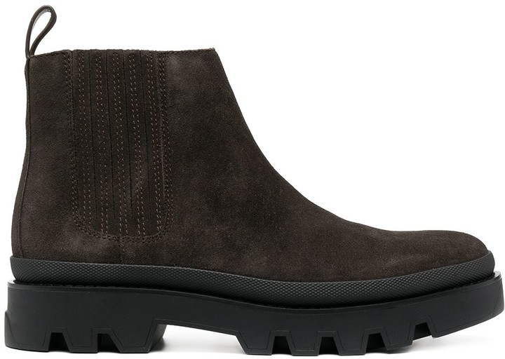 MICHAEL Michael Kors Lewis suede ankle boots