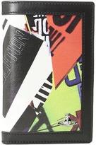 Vivienne Westwood Protest Print Folding Card Holder Credit card Wallet