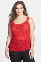 Hanky Panky Plus Size Women's 'Signature' Lace Camisole