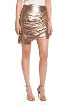 Elliatt Women's Tresor Sequin Miniskirt