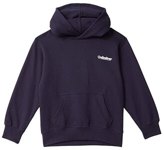 Quiksilver Sun Gazing Hoodie (Big Kids) (Navy Blazer) Boy's Clothing
