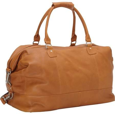 Piel Leather LARGE CLASSIC SATCHEL CARRY-ON