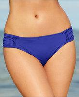 LaBlanca La Blanca Ruched Side-Tab Bikini Bottoms Women's Swimsuit