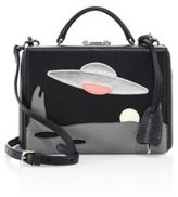 Mark Cross Grace Small UFO Leather Box Crossbody Bag