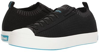 Native Jefferson 2.0 Liteknit (Jiffy Black/Shell White) Shoes