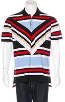 Givenchy Striped Polo Shirt
