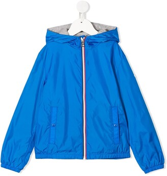 Moncler Enfant Hooded Rain Coat