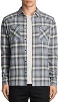 AllSaints Wyoming Slim Fit Button-Down Shirt