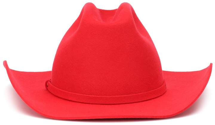 f3a5ac153c637 Red Felt Hat - ShopStyle