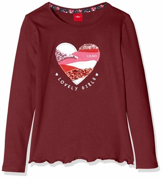 S'Oliver Girl's 53.909.31.8888 Long Sleeve Top
