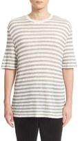 ATM Anthony Thomas Melillo Men's Stripe T-Shirt