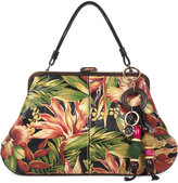 Patricia Nash Cuban Tropical Macerata Frame Extra-Large Satchel
