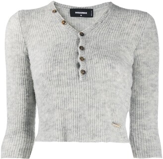 DSQUARED2 Cropped Cardigan