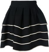 Fausto Puglisi striped full skirt - women - Viscose/Polyamide/Spandex/Elastane - 40