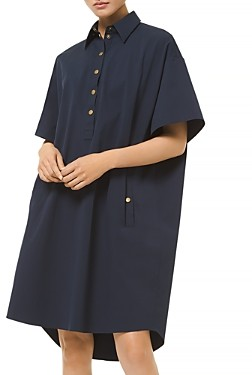 MICHAEL Michael Kors Snap Front Shirt Dress
