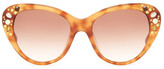 Missoni Women&s Swarovski Embellished Cat Eye Sunglasses