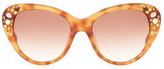 Missoni Women's Swarovski Embellished Cat Eye Sunglasses
