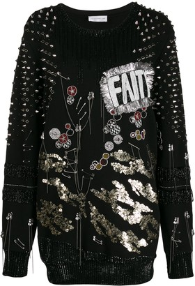 Faith Connexion embellished jumper