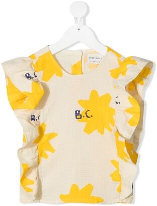 Bobo Choses Abstract-Print Sleeveless Blouse