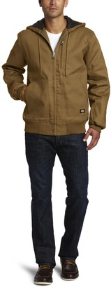 Dickies Men's Big and Tall Hooded Duck Jacket