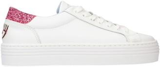 Chiara Ferragni Leather Low-top Sneakers