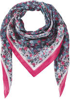 Joe Fresh Women's Print Scarf, White (Size O/S)