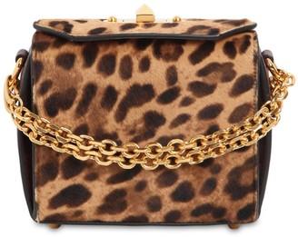 Alexander McQueen BOX 16 LEO PRINTED PONYSKIN BAG