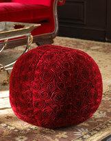 Rose Round Ottoman