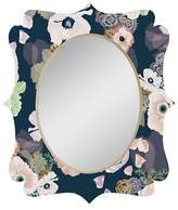 Deny Designs Oval Decorative Wall Mirror Regatta