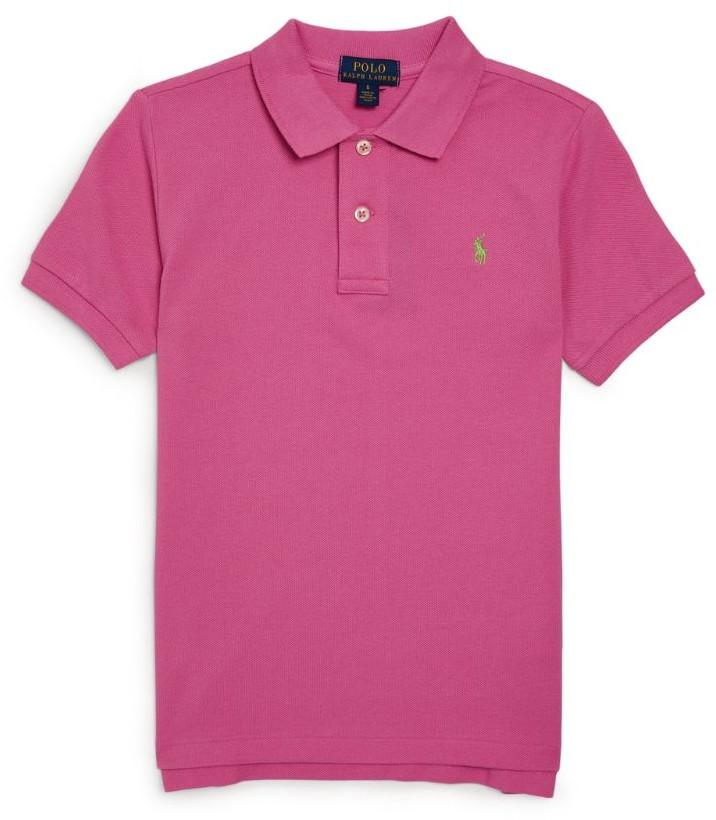 Ralph Lauren Kids Polo Pony Logo Polo Shirt (5-7 Years)