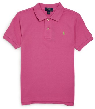 Ralph Lauren Kids Polo Pony Logo Polo Shirt (5-7 Years)