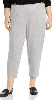 Eileen Fisher Plus Cropped Lounge Pants