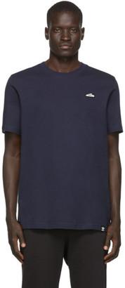 adidas Navy Superstar Embroidered T-Shirt