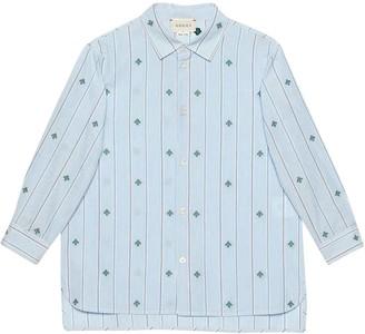Gucci Blue Shirt