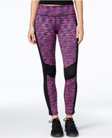 Ideology ID Warm Space-Dyed Fleece Leggings, Only at Macy's