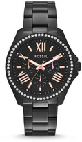 Fossil Cecile Multifunction Black Stainless Steel Watch