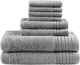 Madison Home USA Signature Reverie Solid 8-piece Bath Towel Set