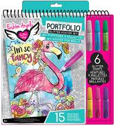 Fashion Angels Glitter Poster Portfolio Set