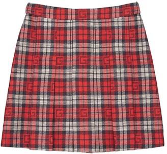 Gucci Cotton & Linen Skirt
