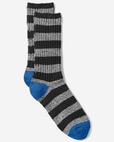 Eddie Bauer Men's Crew Socks - Marled Stripe