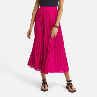 La Redoute Collections Pleated Maxi Skirt